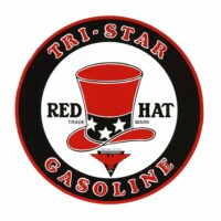 RED HAT TRI-STAR DECAL