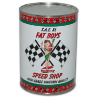 FAT BOYS SPEED SHOP OIL CAN