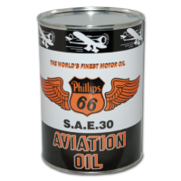 PHILLIPS 66 AVIATION OIL CAN