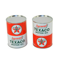 ALL METAL Oil Can - Texaco
