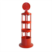 Oil Can Rack- (RED)