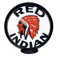 RED INDIAN GAS GLOBE