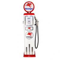 8 Ball Deluxe Electric Pump w/ Base - (WHITE)