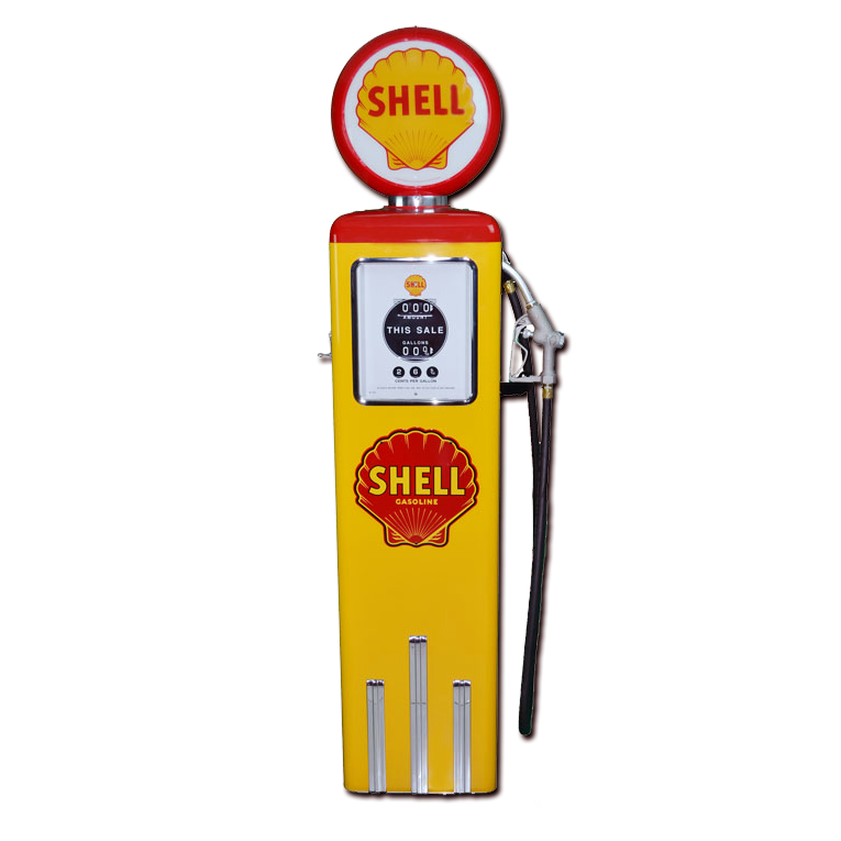 8 Ball Electric Pump Without Base - (Yellow & Red)