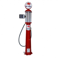 AMERICAN 10 GALLON PUMP - RED & RED