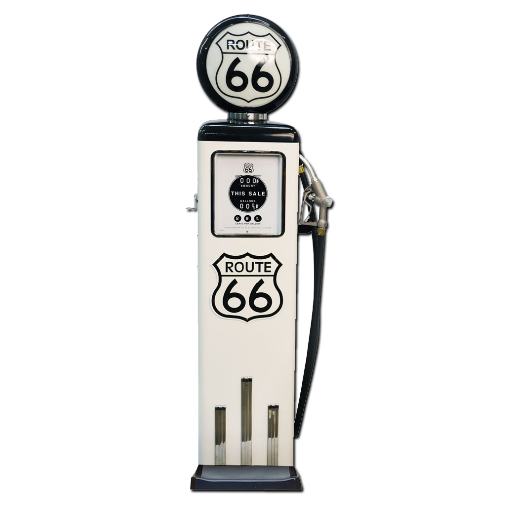 8 Ball Electric Pump With Base (White & Black)