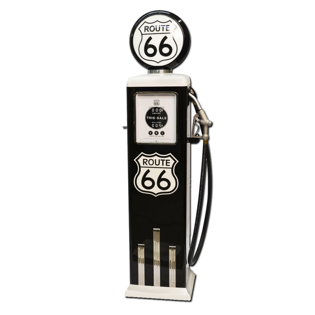 8 Ball Electric Pump With Base (Black & White)
