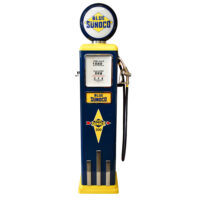 8 Ball Deluxe Electric Pump w/ Base (BLUE & YELLOW)