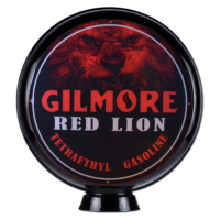 GILMORE RED LION GAS GLOBE