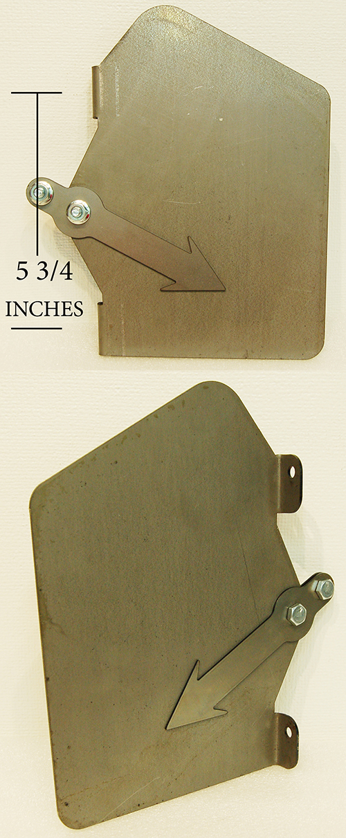 G & B T-176 STORAGE PLATE - EARLY