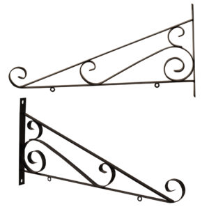 SCROLL SIGN BRACKET 24""