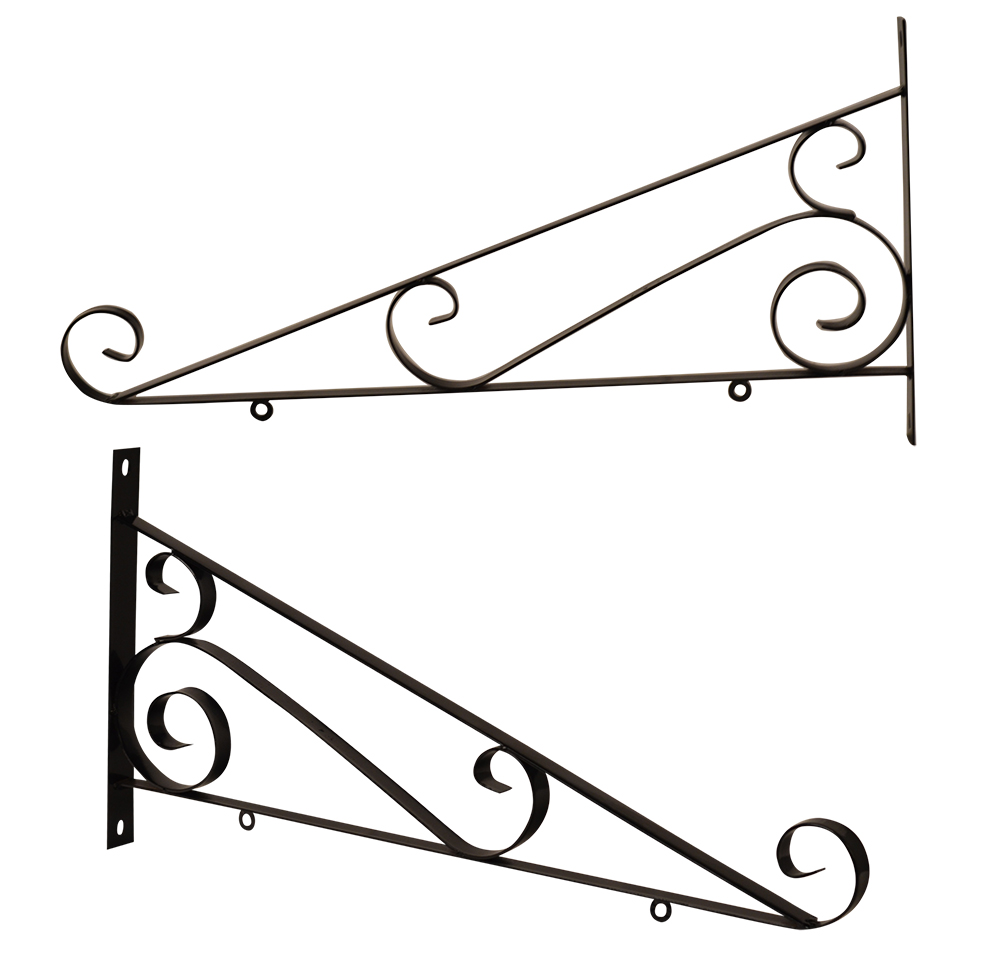 SCROLL SIGN BRACKET 30""