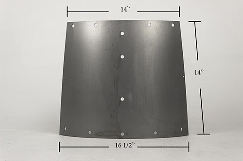 FRY 117 LOWER BASE SIDE EXTENSION PANEL