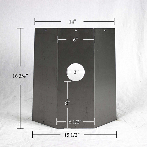 FRY 73 LOWER EXTENSION PANEL