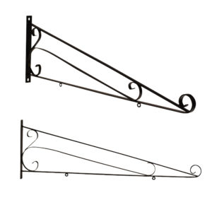 SCROLL SIGN BRACKET 48""
