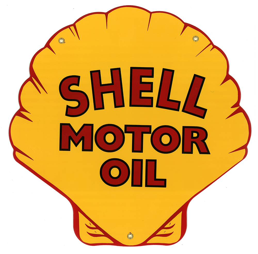 SHELL MOTOR OIL SIGN