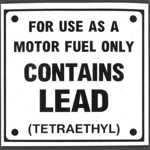 CONTAINS LEAD DECAL