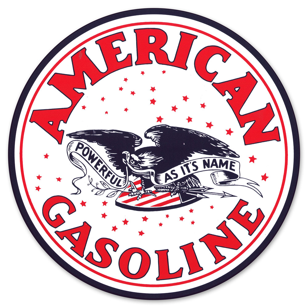 AMERICAN GASOLINE DECAL