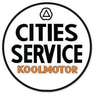 CITIES SERVICE KOOLMOTOR DECAL