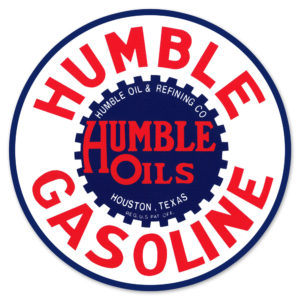 HUMBLE GASOLINE DECAL