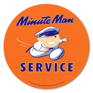 UNION 76 MINUTE MAN DECAL