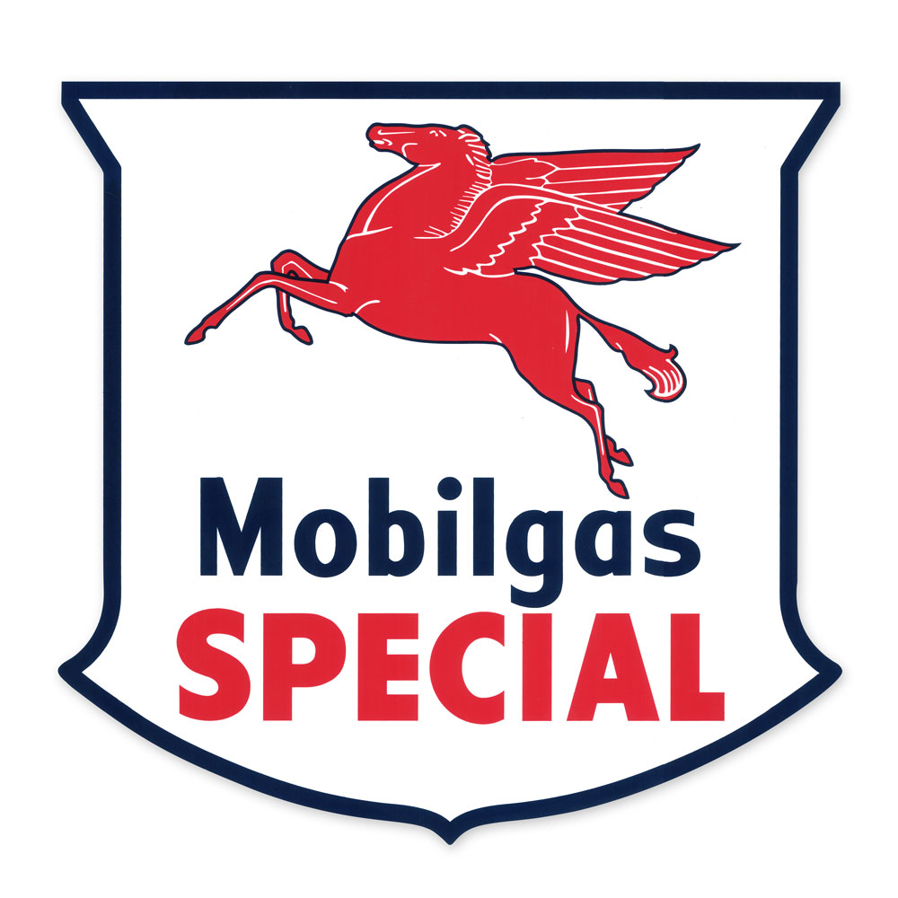 MOBILGAS SPECIAL SHIELD DECAL