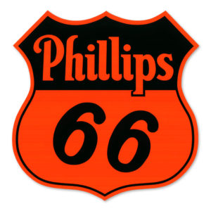 PHILLIPS 66 SHIELD DECAL