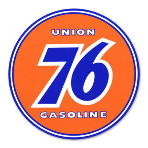 UNION 76 GASOLINE DECAL