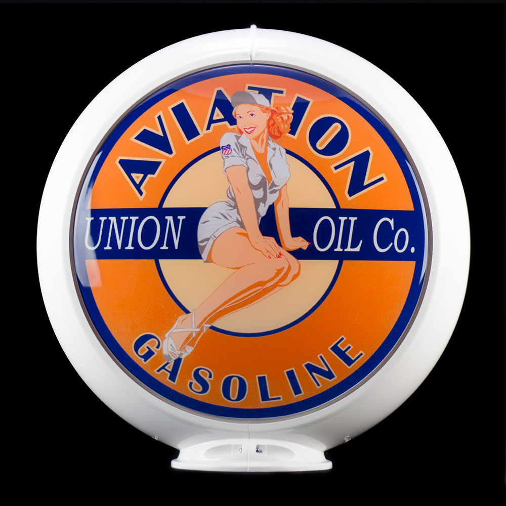 UNION AVIATION PIN-UP GLOBE