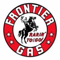 FRONTIER GAS DECAL