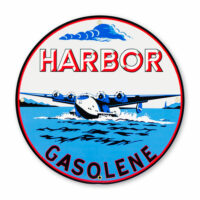 "HARBOR GASOLENE 12"" SIGN"