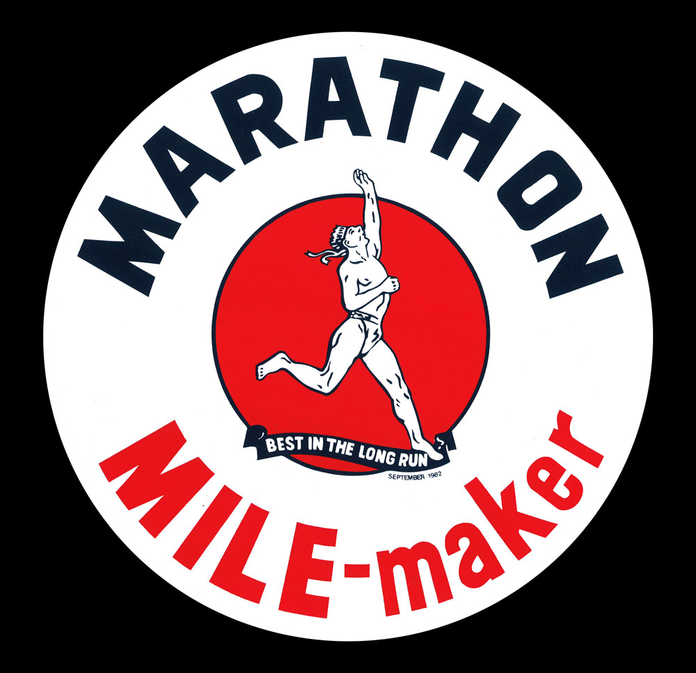 MARATHON MILE-MAKER DECAL