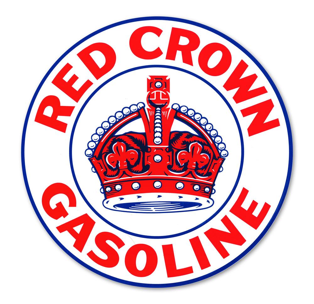 RED CROWN DECAL