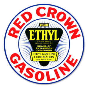 RED CROWN ETHYL DECAL
