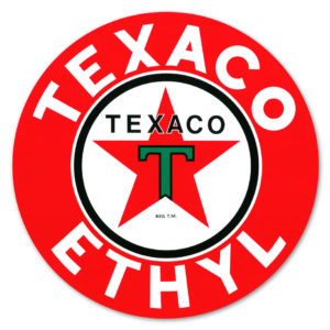 TEXACO ETHYL DECAL