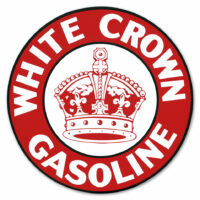 WHITE CROWN DECAL