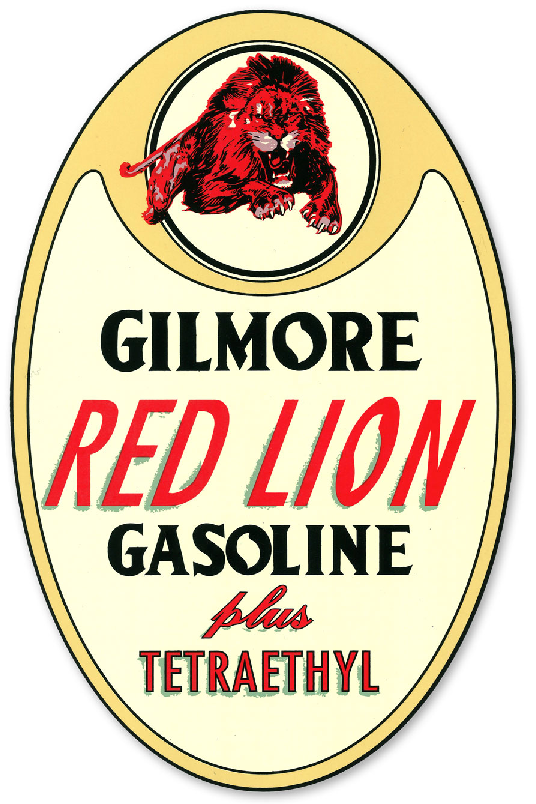 GILMORE RED LION DECAL