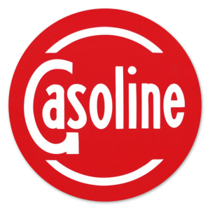 GASOLINE DECAL