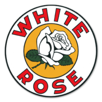 WHITE ROSE DECAL