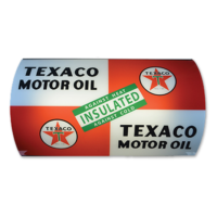 TEXACO INSULATED LIGHTED SIGN