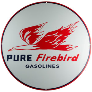 "Pure Firebird Gasoline 30"" SIGN"