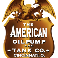 AMERICAN OIL PUMP AND TANK CO. DECAL