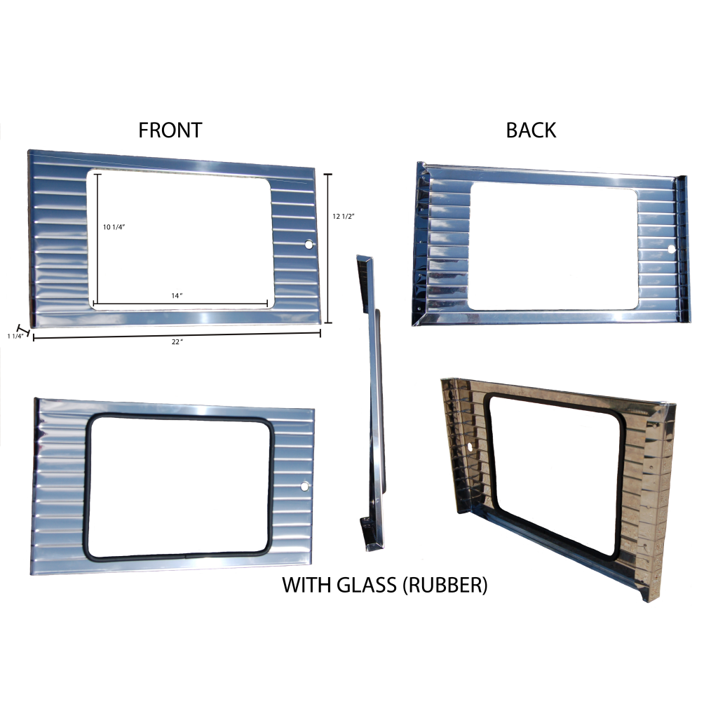 WAYNE 505 STAINLESS UPPER FRONT PANEL
