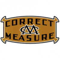 CORRECT MEASURE DECAL 2-INCH