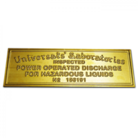 UNIVERSALS' LABORATORIES TAG - POWER OPERATED
