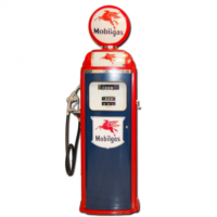 NATIONAL 360 COMPUTER FACE PUMP - BLUE & RED