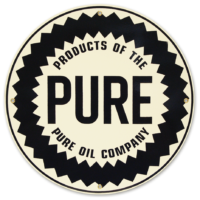 """PURE 12"""" SIGN"""