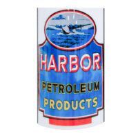 HARBOR PETROLEUM PRODUCTS LIGHTED SIGN