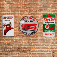 TEXACO BRAND SIGN PACKAGE