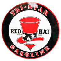"""RED HAT TRI-STAR 30"""" SIGN"""